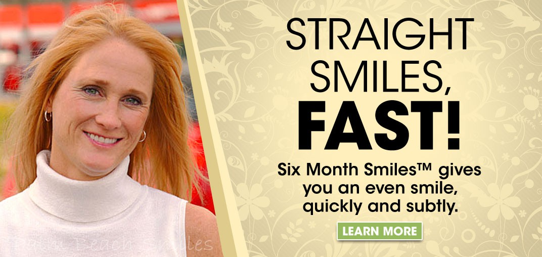 Six Month Smile Banner